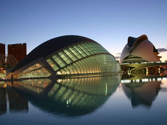 City Of Art And Science In Spain